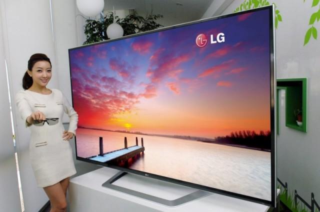 LG 84-inch TV
