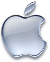 silver apple logo1 Apple By The Numbers: 83 Million Visitors Visited Stores, 7 Million Mountain Lion Copies Sold