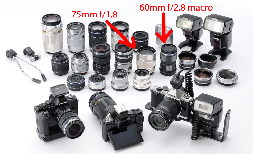 Olympus OM-D E-M5 Specs And Accessories Leaked: 16 MP, New 75mm f