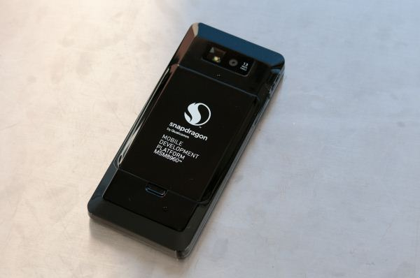 The first mobile devices with qualcomm 2019s new quad-core snapdragon chip, which features an integrated modem