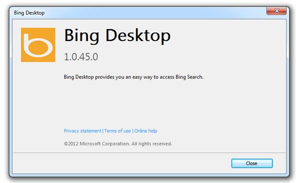 Bing Toolbar and Desktop - Microsoft Community