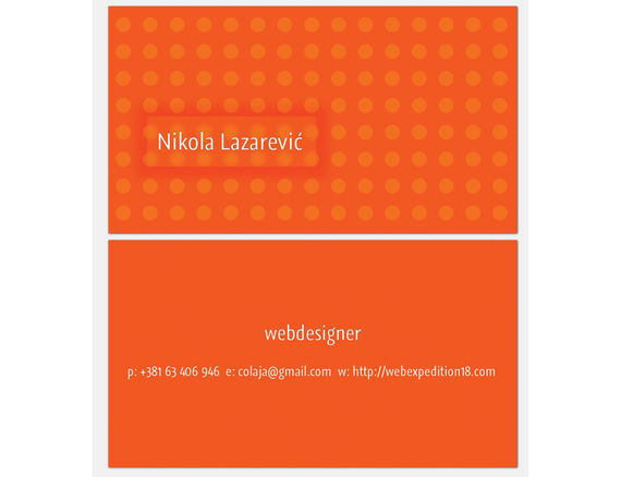 Business cards tutorials and examples i2mag trending tech news design a slick business card accmission Gallery