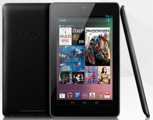 Google Nexus 7 Tablet Google Detailed Out Nexus 7 Tablet Delivery Statuses