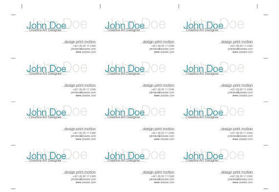 Business cards tutorials and examples i2mag trending tech news how to impose business cards for digital printing with indesign flashek Image collections