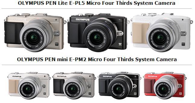 olympus announces e pl5 and e pm2 micro four thirds cameras i2mag trending tech news travel. Black Bedroom Furniture Sets. Home Design Ideas