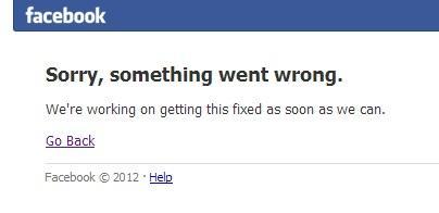 facebook site down news