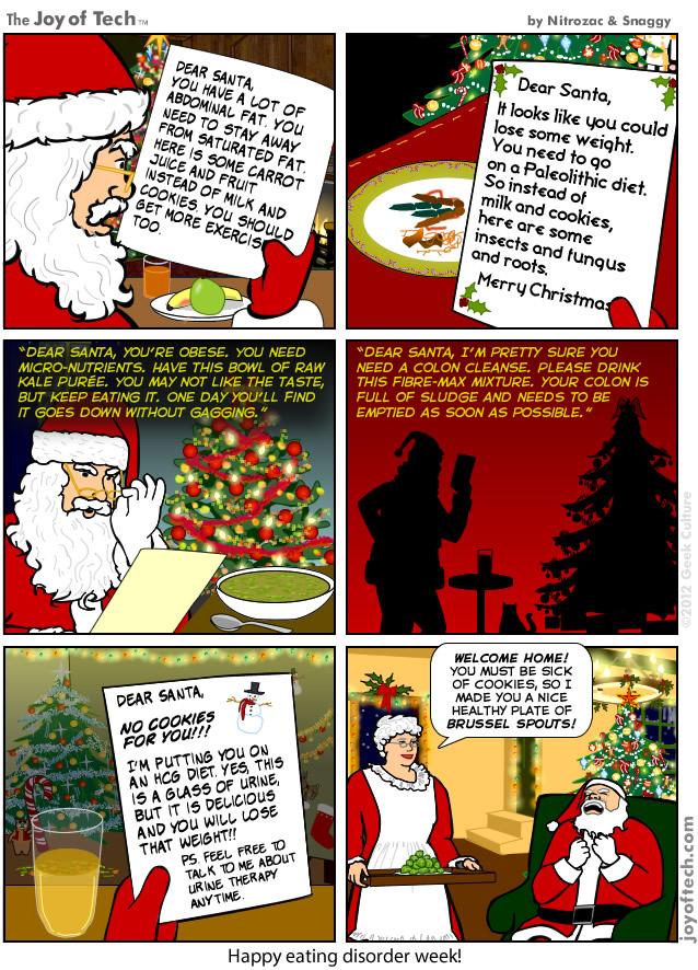 Happy Eating Disorder Week! (Comic)