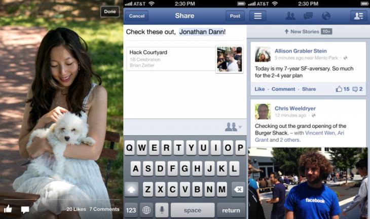 Facebook iOS App