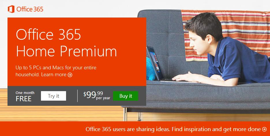 office 365 home premium debuts yearly subscription costs. Black Bedroom Furniture Sets. Home Design Ideas