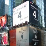 LG Optimus G 4 Billboard - 1
