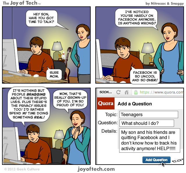 Quora - Add A Question (Comic)