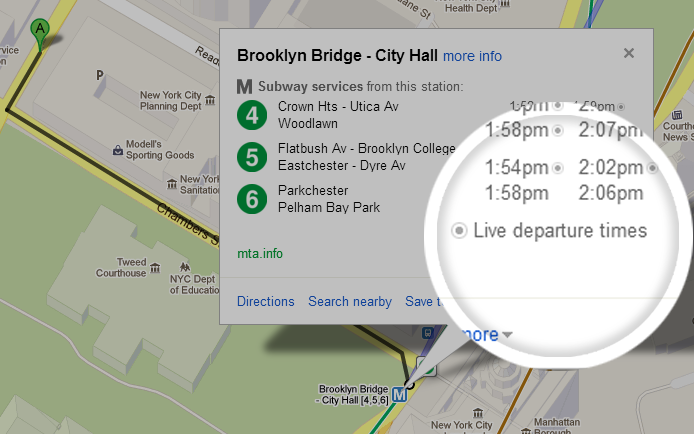 google-maps-mta-realtime
