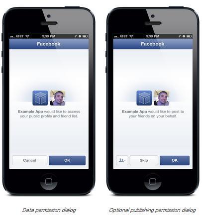 Facebook Login Dialog
