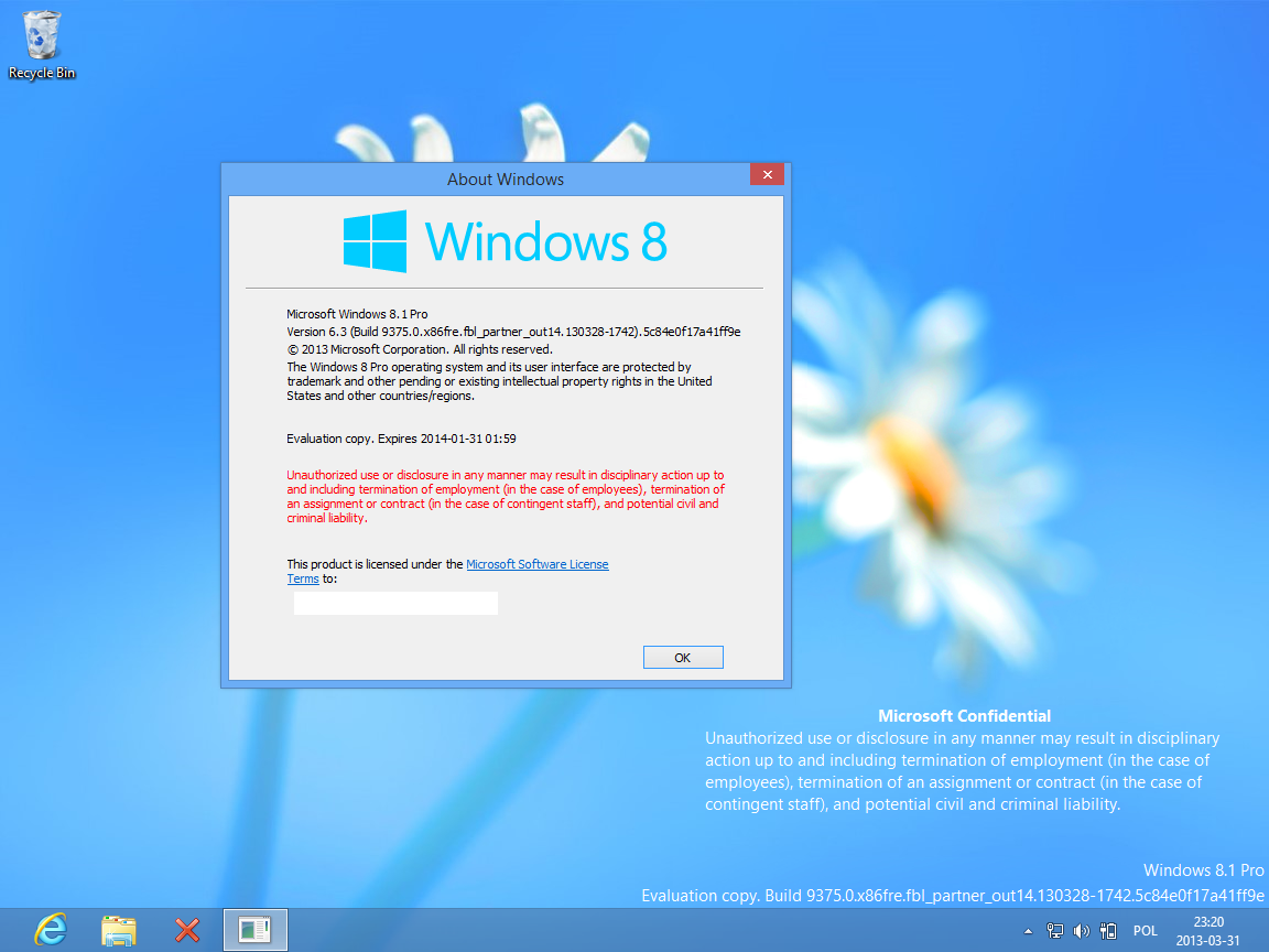 Windows Blue (Windows 8.1)