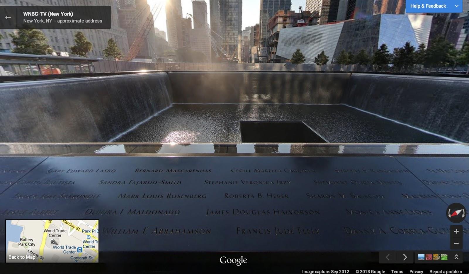 Google-Maps-9-11-Memorial-NYC