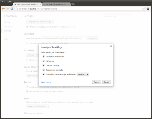 Google-Reset-Profile-Settings