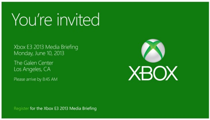 Microsoft Starts Sending Invitation For Its PreE Xbox Press Event