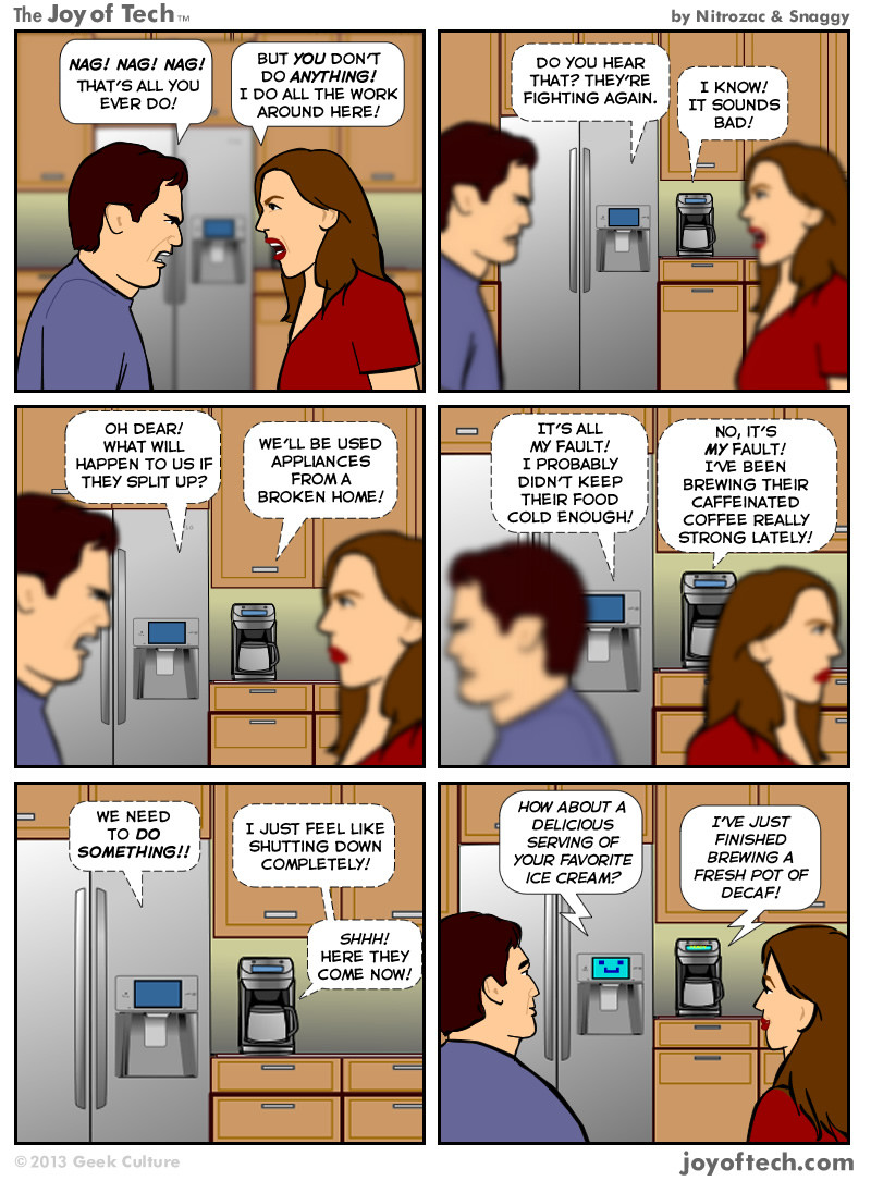 Smart Appliances (Comic)