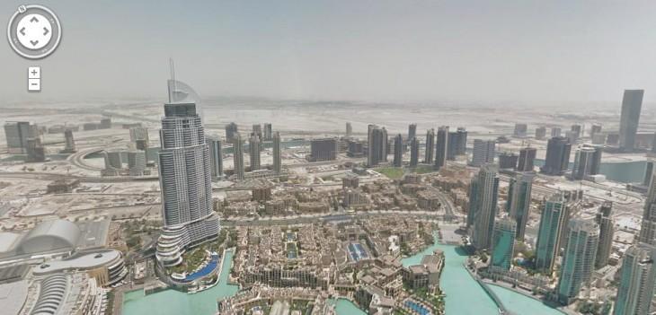 Google-Street-View-Burj-Kalifa-Dubai