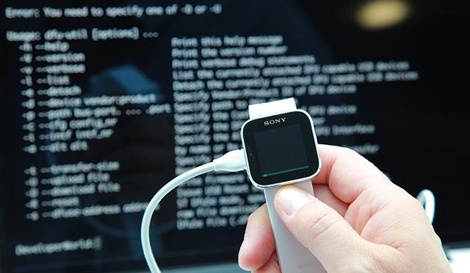 Sony-SmartWatch-Project