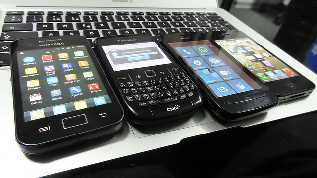 Android - Blackberry - Windows Phone- iOS