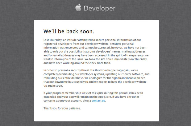 Apple-Developer-Website