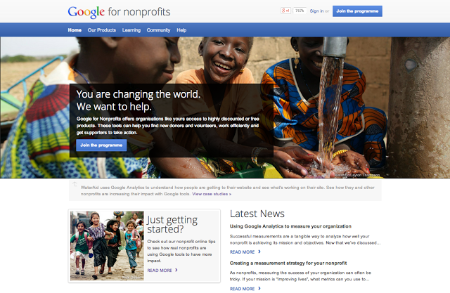 Google for Nonprofits UK