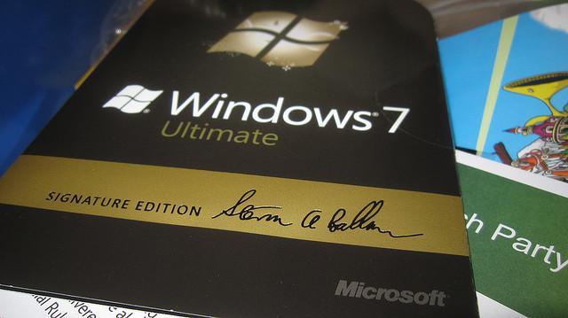 Microsoft Windows 7 Signature Edition