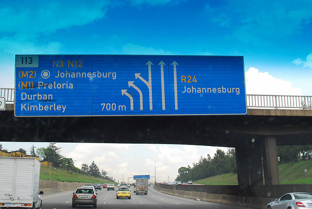 Towards Johannesburg