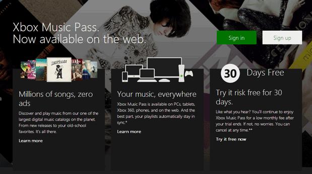 Xbox-Music