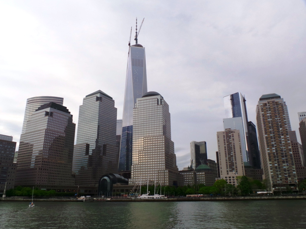 Manhattan skyline from Circle Line cruise
