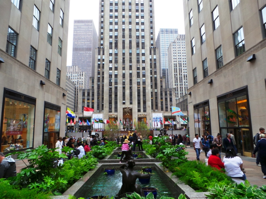 Rockefellow Centre, Fifth Avenue