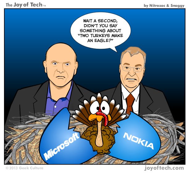 Microsoft's Nokia Acquisition (Comic)