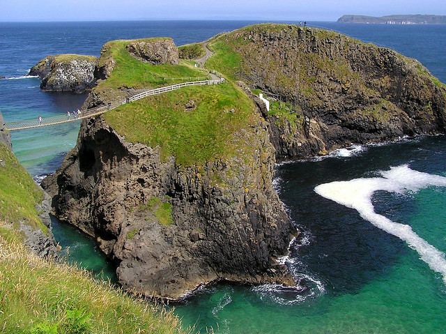 Carrick-a-rede Rope Bridge, Northern Island