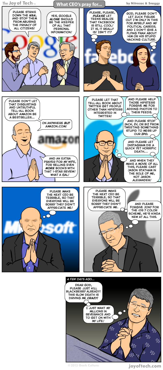What CEO's  Pray For... (Comic)