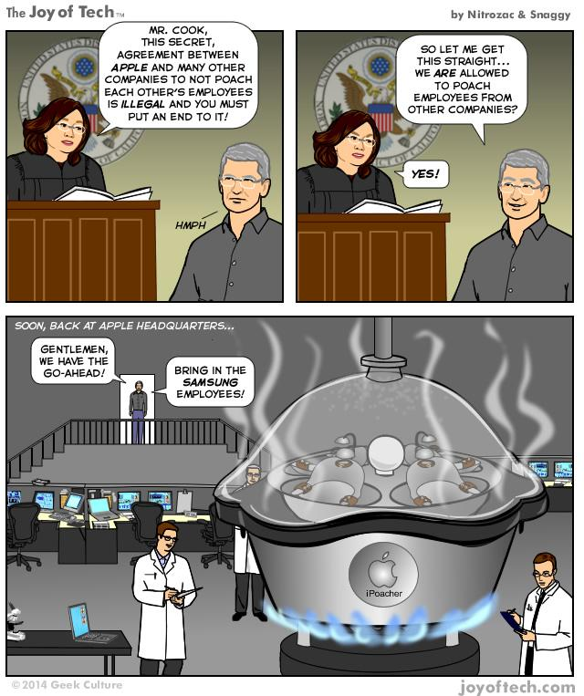 Back At Apple Headquarters (Comic)