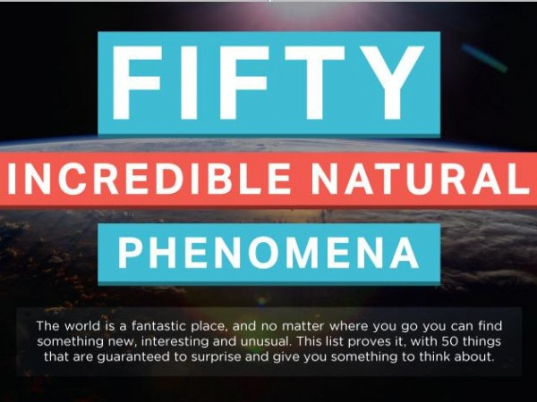 50 Incredible Natural Phenomena Main