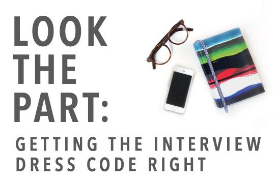 Getting the Interview Dress Code Right Infographic Main