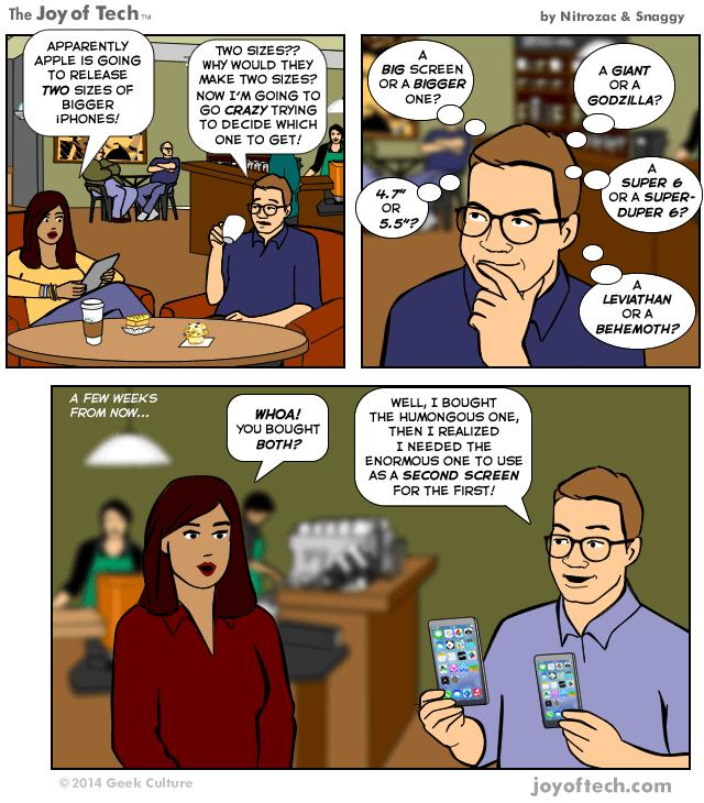 Apple's New iPhone (Comic)