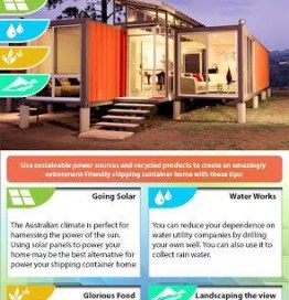 Earth-Friendly Tips For Your Shipping Container Home