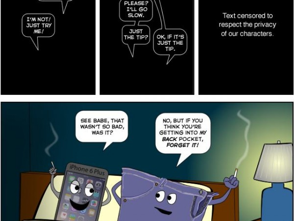 No Way! You'Re Too Big! - Apple Gizmos Dilemma (Comic)