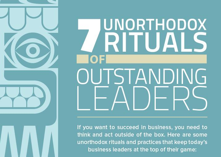 7 Unorthodox Rituals of Outstanding Leaders Main