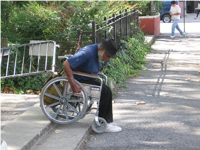 Man On Wheelchair