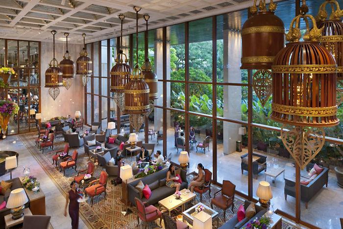 Mandarin Oriental lobby