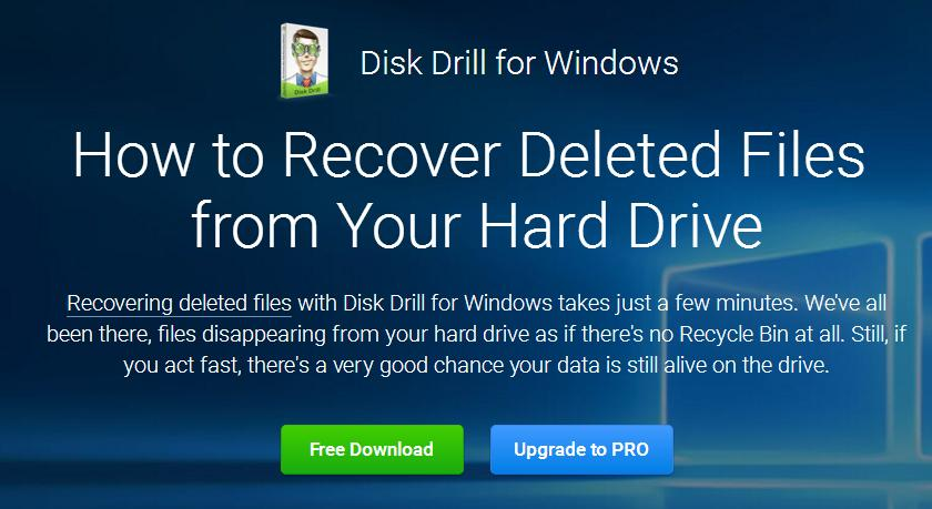 Recover Hard Drive Data With Disk Drill File Recovery