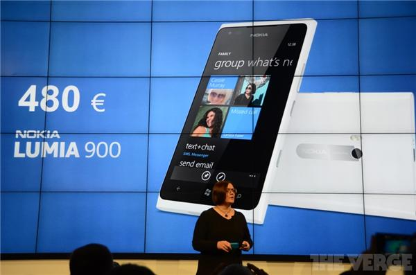Nokia Lumia 900 Will Come to Europe in The Second Quarter