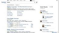 Bing Social Sidebar Results