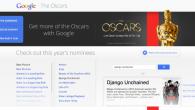 Google Oscar Destination Website