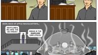 Back At Apple Headquarters (Comic)