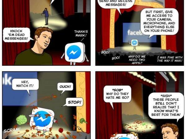 A New Facebook Messenger! (Comic)